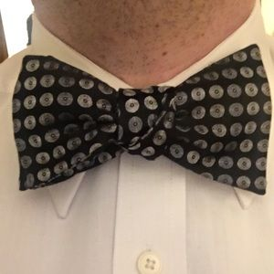 Self Tie Adjustable Silk Self tie Bow tie